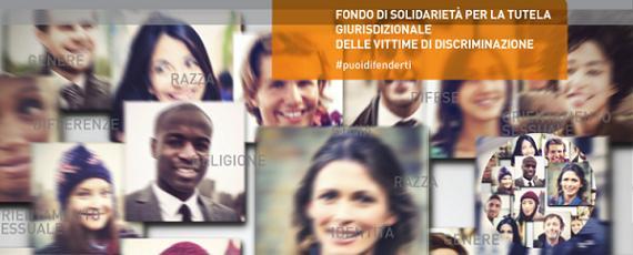 Fondo di solidarieta' per la tutela giurisdizionale delle vittime di discriminazione