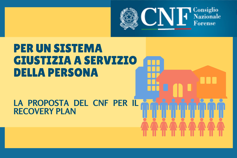 La proposta CNF per il Recovery Plan