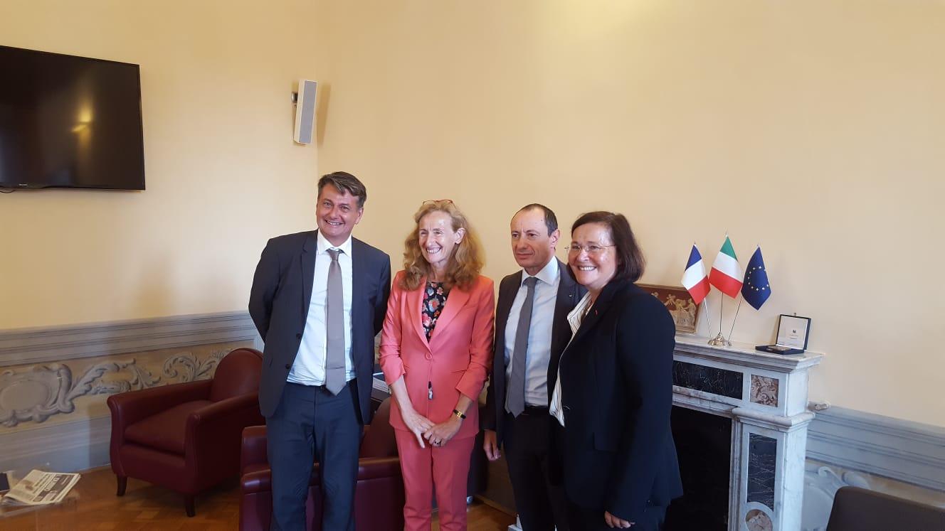 Il ministro della Giustizia francese incontra il CNF