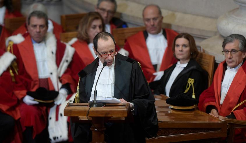 Anno giudiziario 2020, l'intervento del Presidente del CNF Andrea Mascherin