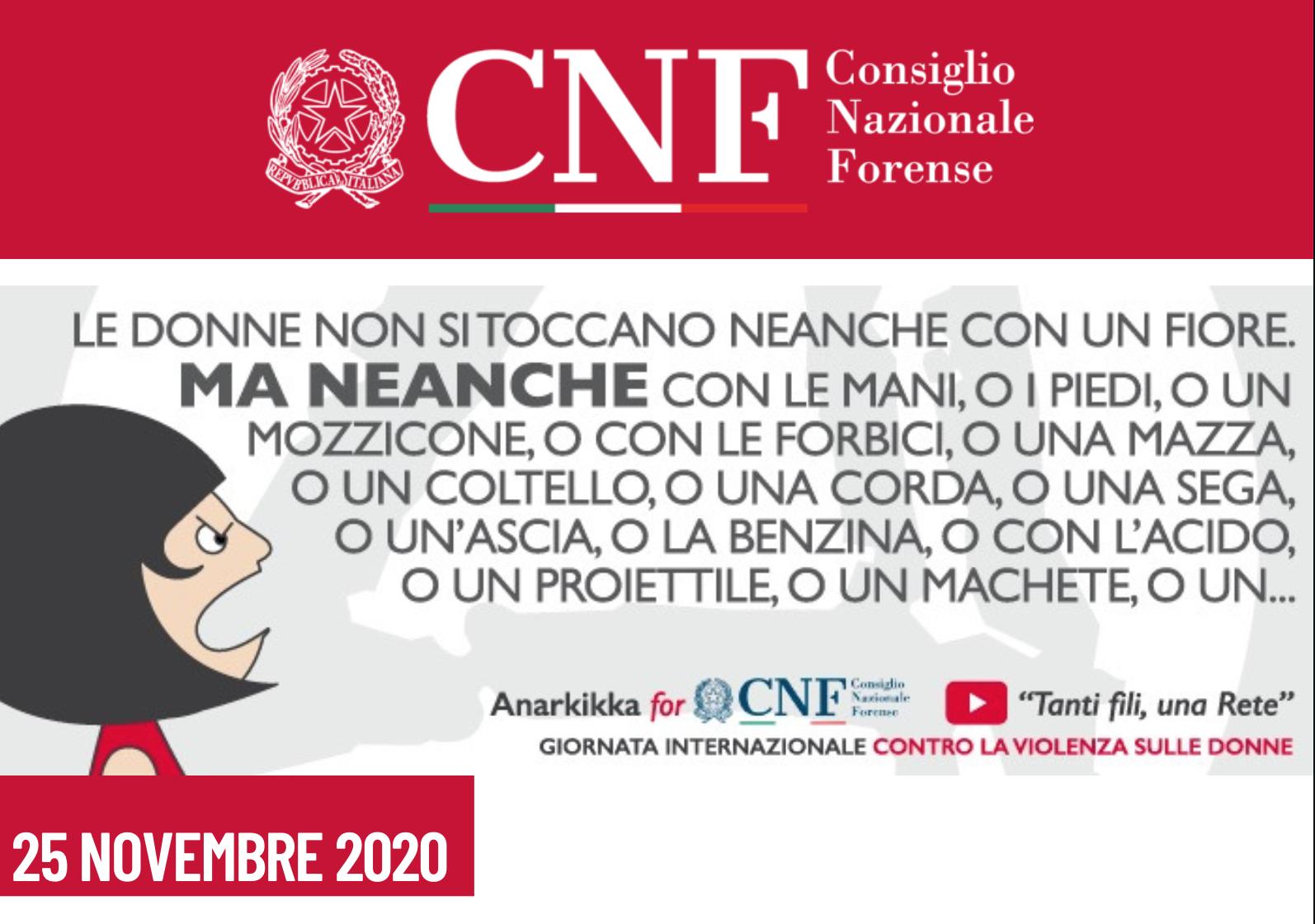 Violenza donne, Al via campagna CNF con Ministra Bonetti