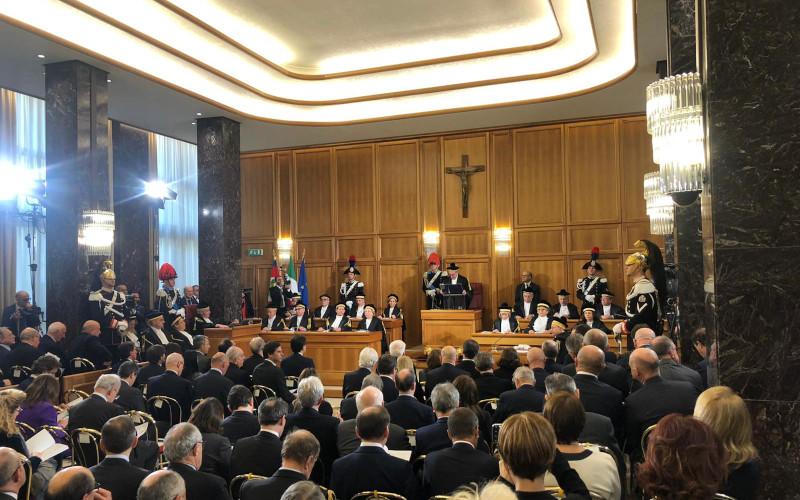 Corte dei Conti, Intervento del Presidente del CNF Andrea Mascherin