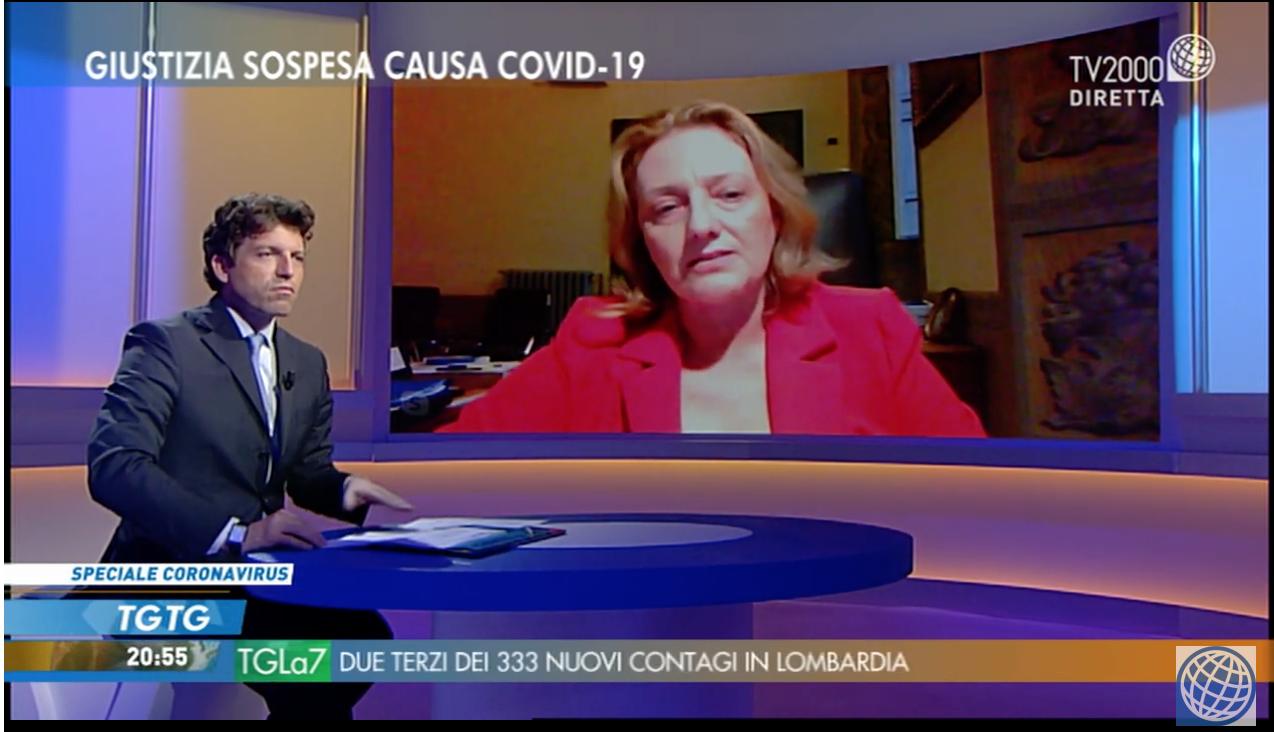 Tempi di attesa della Giustizia, Maria Masi (CNF) a Tv2000