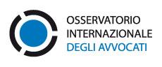 Il CNF assume la presidenza dell'Osservatorio Internazionale degli Avvocati in pericolo