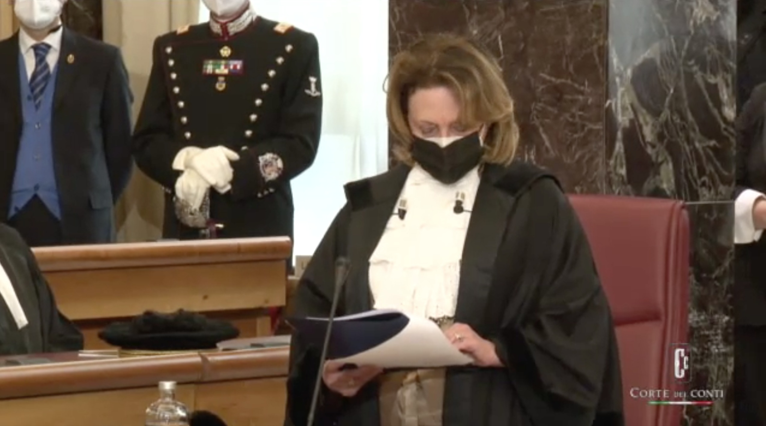 Corte dei conti, Intervento della Presidente del CNF Maria Masi