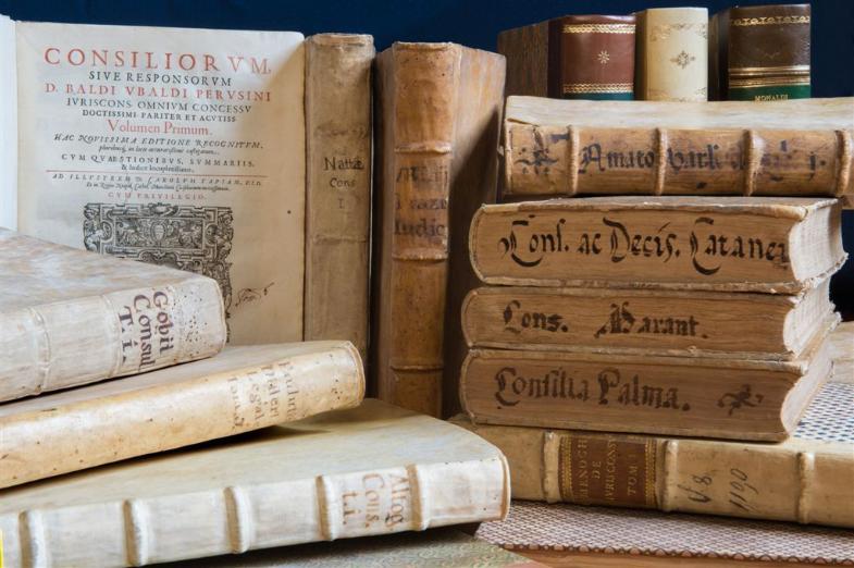 I valori dell'Avvocatura: libri e immagini